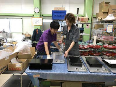 【板金加工スタッフ】業務用炊飯システム・食品検査装置・各種産業用設備機器、装置の製造メーカー